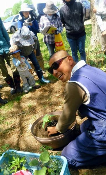 自分で育ててみよう!自然栽培体験農園